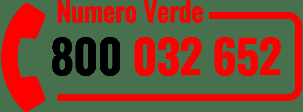 Numero Verde Pro-pipe nero